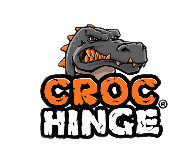 Croc Hinge 4x4 Bracket - sticker